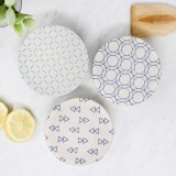 Waxed Mini Food Cover Set 3pk - Geometric