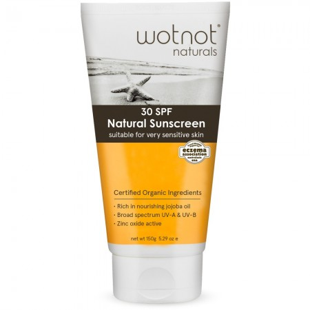 Wotnot palm oil free natural sunscreen SPF 30 150g