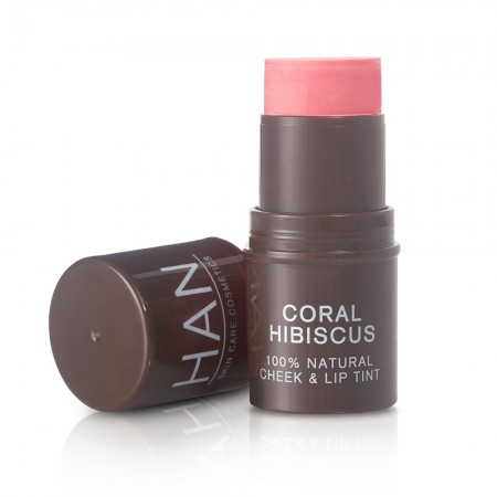 HAN Cosmetics Cheek and Lip Tint - Coral Hibiscus