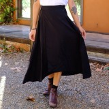Tasi Travels Wilder Wrap Skirt Black