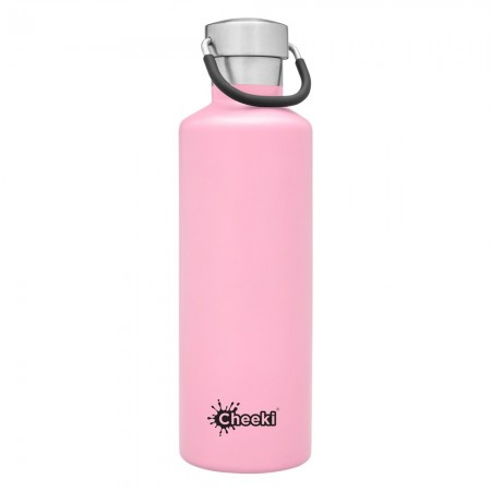 Cheeki 600ml Stainless Steel Insulated Bottle - Pink