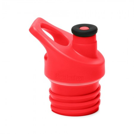 Klean Kanteen Cap - Sports Cap 3.0 Silicone Spout Red