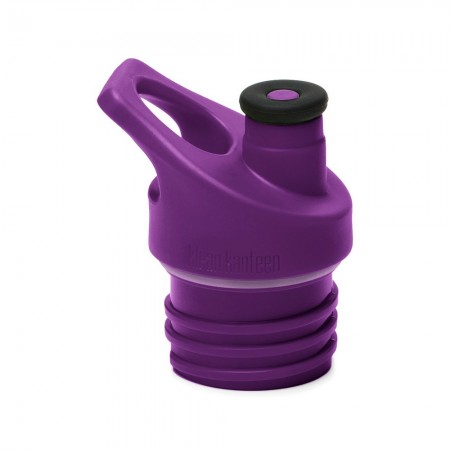 Klean Kanteen Cap - Sports Cap 3.0 Silicone Spout Dark Purple