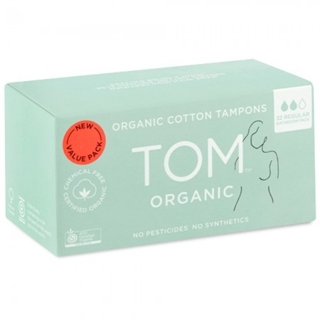 Tom Organic Regular Tampon 32