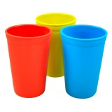 Re-Play recycled tumblers (3) - primary colours (red, yellow, & blue)