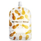 Sinchies Reusable Pouches 150ml (10 pack) - Gold Pineapples