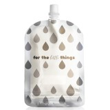 Sinchies Reusable Pouches 150ml (10 pack) - Monochrome Droplets
