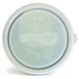 U Konserve Replacement Lid for 5oz Round Container - Clear