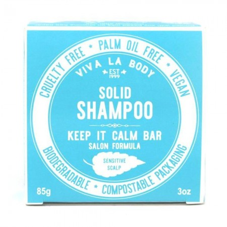 Viva La Body Shampoo Bar 85g - Keep It Calm Fragrance Free