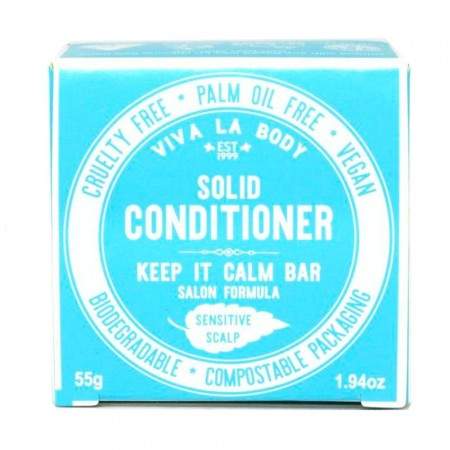Viva La Body Conditioner Bar 55g - Keep It Calm (Fragrance Free)