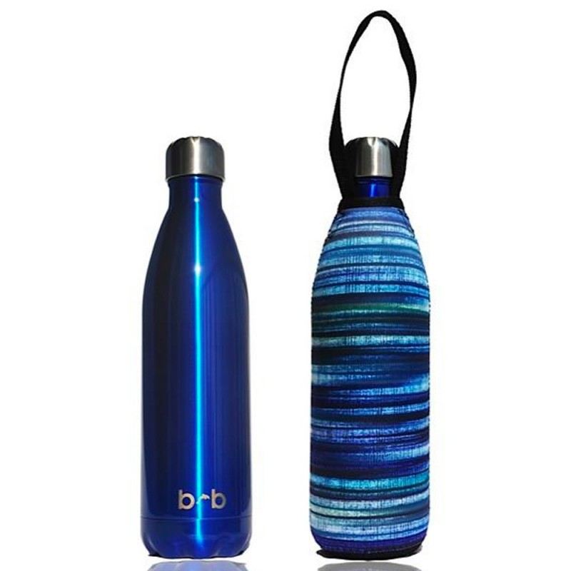 BBBYO Stainless Steel Water Bottle with Cover 1L - Electric