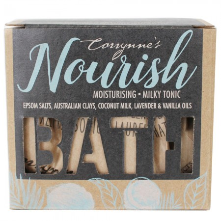 Corrynne's Nourishing Mineral Coconut Milk Bath Salts 500g