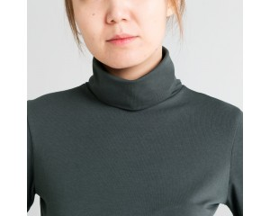 Dorsu Long Sleeve Turtleneck - Forest