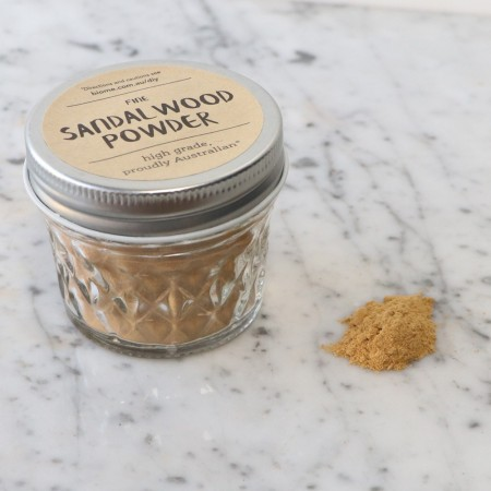 Sandalwood Powder in Glass Jar 45g - Fine (For Body)