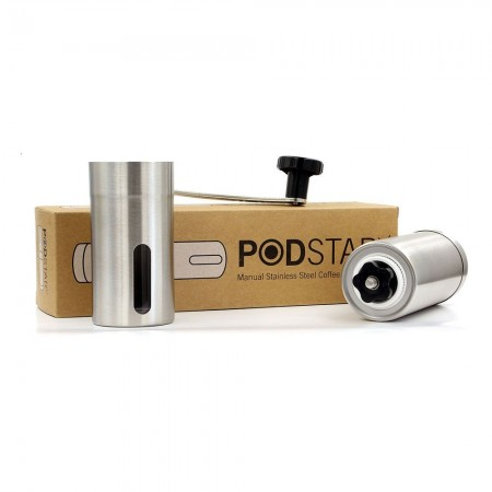Podsta Manual Stainless Steel Coffee Grinder