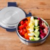 Lunchbots Salad Food Bowl 3 Cup Navy 750ml