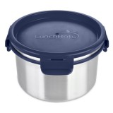 Lunchbots Stainless Steel Leak Proof Container 6 Cup/1.5L - Navy