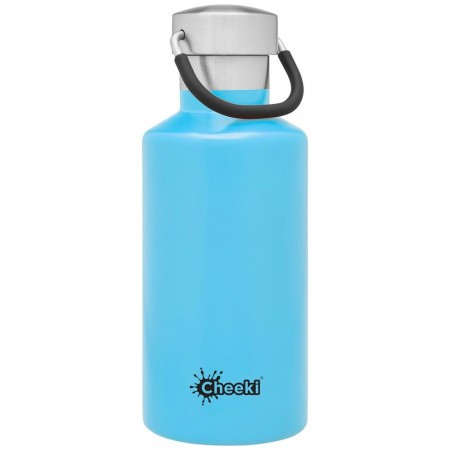 Cheeki 400ml Stainless Steel Insulated Bottle - Surf