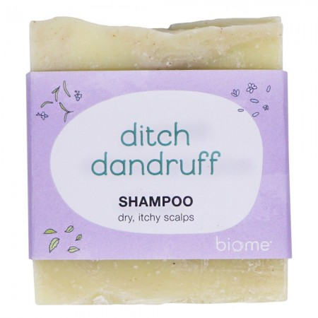 Biome Shampoo Bar - Ditch Dandruff (Dry, Itchy Scalps)