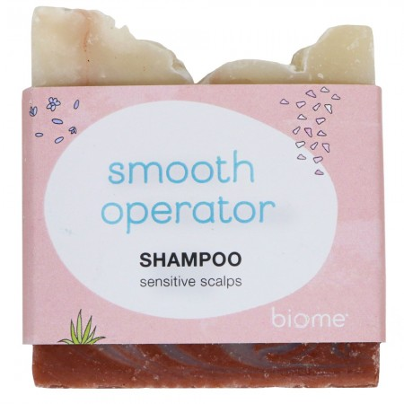Biome Shampoo Bar - Smooth Operator (Sensitive Scalps)