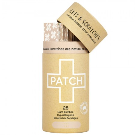 Patch Organic Adhesive Strips 25pk - Natural