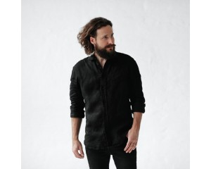 Seaside Tones Mens Shirt Black