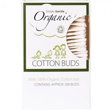 Organic cotton buds (200)
