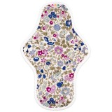 Hannahpad Medium Cloth Pad - Morning Glory Purple with Grip