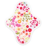 Hannahpad Small Cloth Pad 2pk - Flower Garden Pink with Grip