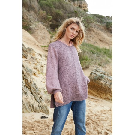 Torju Bella Fleck Cotton Jumper