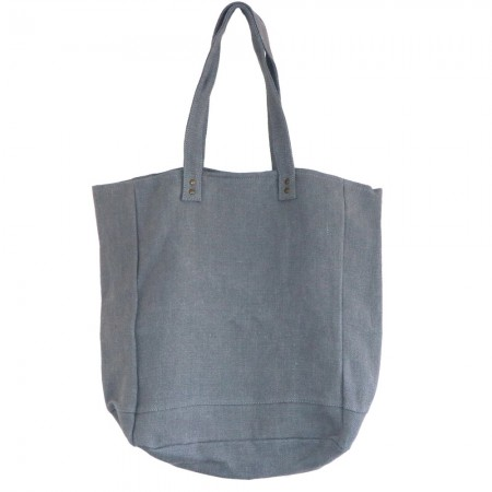 The Dharma Door Jute Canvas Tote Bag - Ash LAST CHANCE!