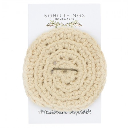 Boho Things Organic Cotton Face Scrubby