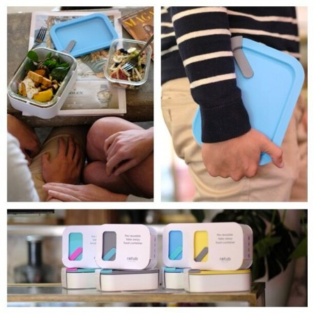 retub Reusable Takeaway Container - Green Thumb