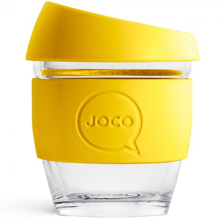 JOCO Glass Reusable Coffee Cup 118ml 4oz - Meadowlark