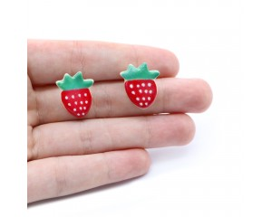 Kylie Johnson Strawberry Earrings