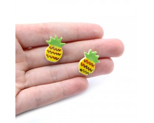 Kylie Johnson Pineapple Earrings