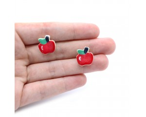 Kylie Johnson Apple Earrings