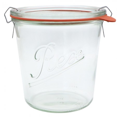 Weck Glass Tapered Jar 580ml