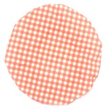 4MyEarth Single Food Cover Extra Large - Red Gingham