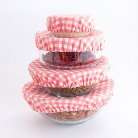 4ME Food Cover XL Red Gingham