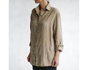 Seaside Tones Shirt Beige