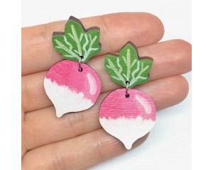 Pixie Nut Radish Earrings