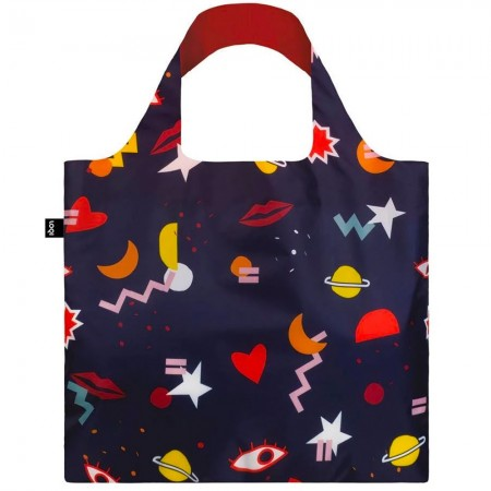 Loqi Reusable Shopping Bag - Night Night