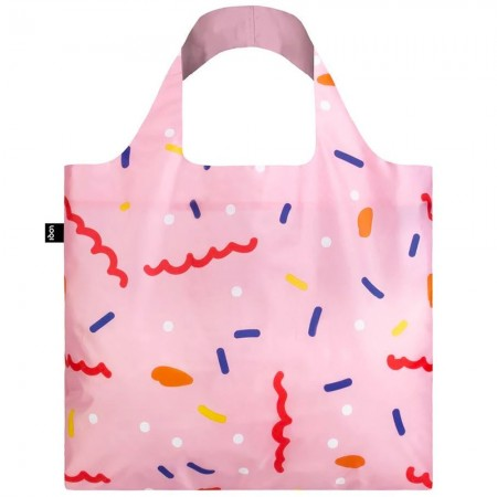 Loqi Reusable Shopping Bag - Confetti