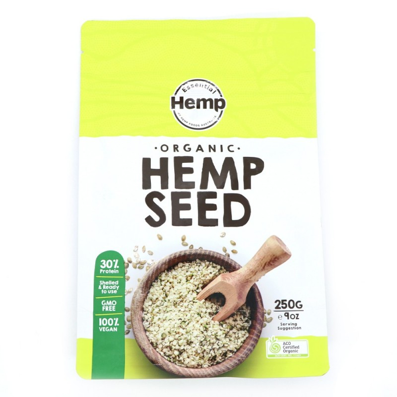 Essential Hemp Certified Organic Hemp Seeds (Hulled) 250g