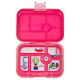 Yumbox Lunch Box - Original 6 Compartment Lotus Pink