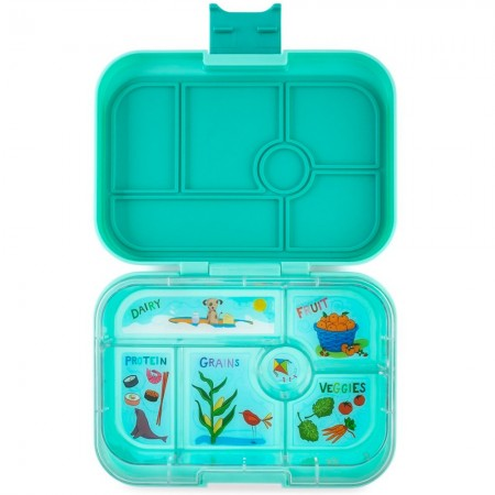 Yumbox Lunch Box - Original 6 Compartment Surf Green