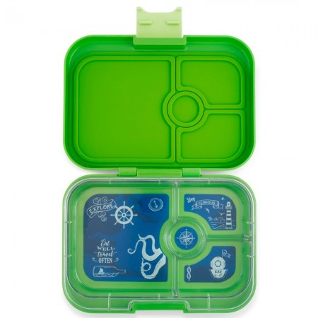 Yumbox Lunch Box - Panino 4 Compartment Cilantro Green