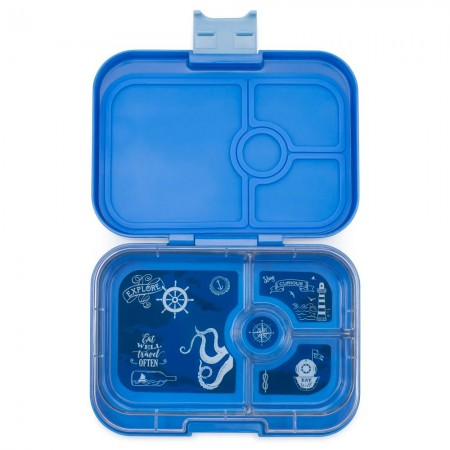 Yumbox Lunch Box - Panino 4 Compartment Jodhpur Blue