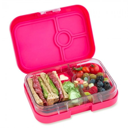 Yumbox Lunch Box - Panino 4 Compartment Lotus Pink